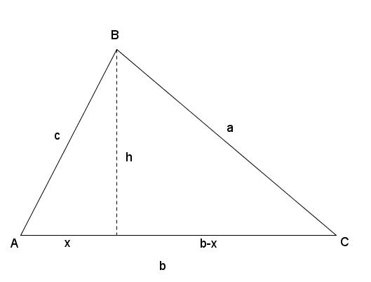 hvordan rotere en trekant 90 grader